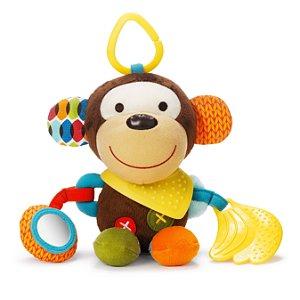 Pelúcia de Atividades com Mordedor (Bandana Buddies) Macaco - Skip Hop