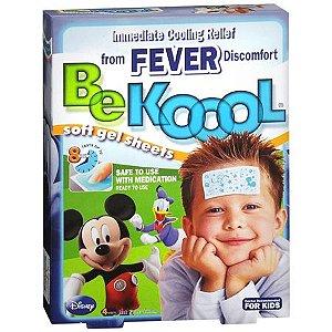 Gel Adesivo para Alívio e Combate da Febre - Be Kool Fever