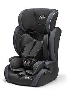 Cadeira para Auto Elite 9 a 36Kg Cinza - Multikids Baby