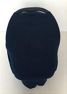 Capa Multifuncional para Mamãe e Bebê Azul Marinho - Colo de Mãe