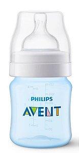 Mamadeira Avent Clássica Anti-Cólica 125ml 0+ Meses Azul - Philips Avent