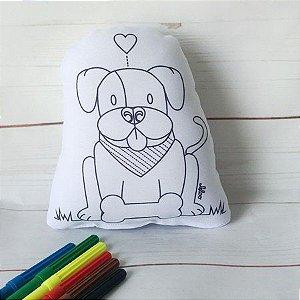 Pinta e Lava com Canetinhas Cachorro - Leloo