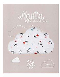 Manta Protetora com Repelente Flores - Nutti