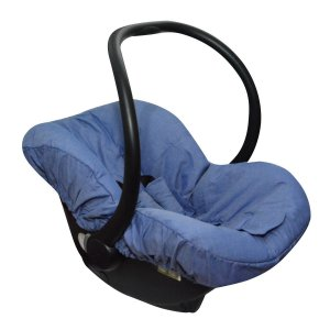 Capa para Bebê Conforto Chambre Jeans - Candytree