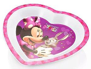 Prato Raso para Microondas Minnie Disney - Multikids Baby