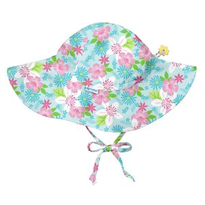 Chapéu de Banho Infantil com FPS +50 Aqua Flores - iPlay