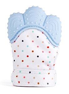 Luva Mordedor de Silicone Azul - Girotondo Baby