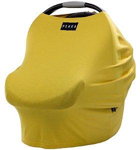 Capa Multifuncional para Mamãe e Bebê (5 funções) Amarelo - Penka Cover