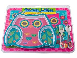 Kit de Alimentação Coruja - Stephen Joseph