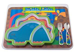Kit Alimentação Dinossauro - Stephen Joseph