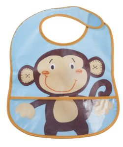 Babador Impermeável Amigo Macaco - Girotondo Baby