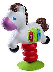 Brinquedo para Cadeirão/Mesa com Ventosa Cavalo - Girotondo Baby