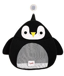 Organizador para Brinquedos de Banho Pinguim - 3 Sprouts