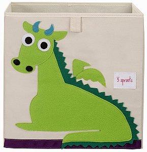 Organizador Infantil Quadrado Dragão - 3 Sprouts