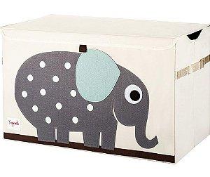 Organizador Infantil Retangular Elefante - 3 Sprouts