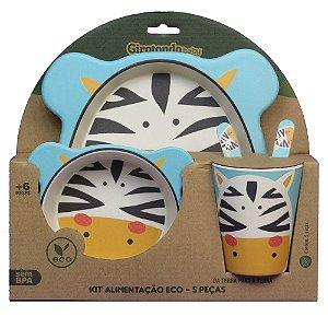 Kit Alimentação ECO (5 Peças) Zebra - Girotondo Baby