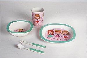 Kit Alimentação ECO (5 Peças) Fashion - Girotondo Baby