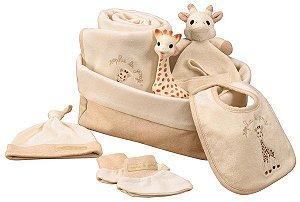 """Sophie La Girafe - Kit Presente Maternidade """"Meu Nascimento"""" - Vulli"""