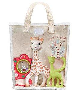 Sophie La Girafe - Kit Presente Fresh Touch Chocalho - Vulli