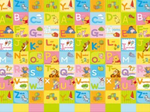 Tapete de Atividades Hi Pooh Alfabeto - Girotondo Baby