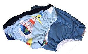 Kit Cuecas de Treinamento para Desfralde Paraquedas - Colo de Mãe