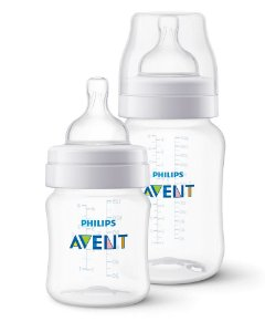 Kit Mamadeira Avent Clássica Anti-Cólica 125ml + 260ml - Philips Avent