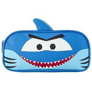 Estojo Escolar Infantil Tubarão - Stephen Joseph