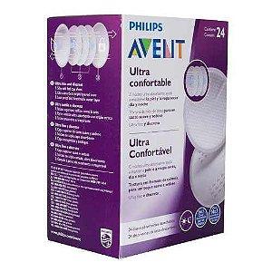 Absorvente Descartável para Seios Dia e Noite (24 unidades) - Phillips Avent