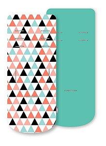 Almofada para Carrinho com Espuma de Viscoelástico Comfi-Cush Triângulos - Clingo