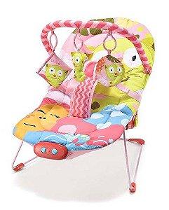 Cadeira de Descanso Musical Gatinha 0-15 Kg - Multikids Baby