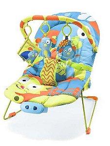 Cadeira de Descanso para Bebê Musical 0-15 Kg Cachorro - Multikids Baby
