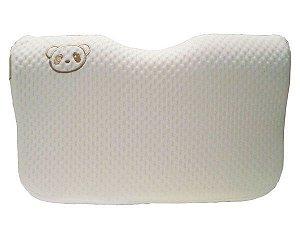 Travesseiro Ergonômico em Memory Foam e Fibra de Bambu - Clingo