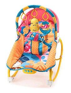 Cadeira de Balanço Musical Girafa 0-20 Kg - Multikids Baby