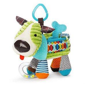 Pelúcia de Atividades com Mordedor (Bandana Buddies) Cachorro - Skip Hop