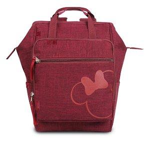 Bolsa Maternidade Baby Bag Minnie Bordô - Baby Go