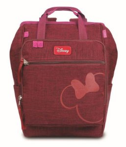 Bolsa Maternidade Baby Bag Minnie Bordô - Baby Go