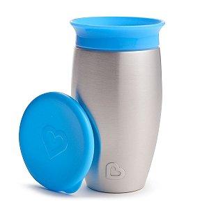 Copo Térmico de Treinamento 360 (Miracle Cup) Azul - Munchkin