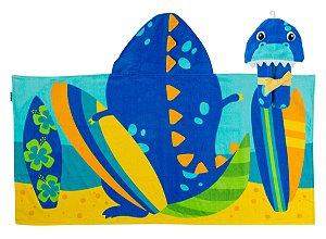Toalha de Praia e Piscina com Capuz Dinossauro - Stephen Joseph