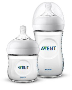 Kit Mamadeira Avent Pétala Anti-Cólica 125ml + 260ml - Philips Avent
