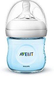 Mamadeira Avent Pétala Anti-Cólica 125ml 0+ Meses Azul - Philips Avent