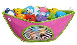 Organizador para Brinquedos de Banho Rosa - Munchkin