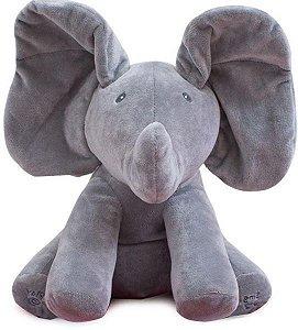 Elefante Animado Flappy Canta E Brinca Peek-a-boo