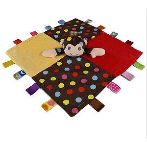 """Naninha Macaco """"Taggies Blanket"""" - Happytime"""