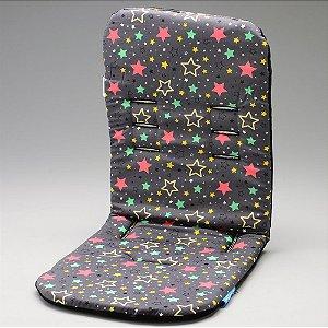 Almofada para Carrinho com Espuma de Viscoelástico Comfi-Cush Color Stars - Clingo