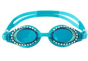 Óculos de Natação com Brilho Azul Turquesa - Stephen Joseph