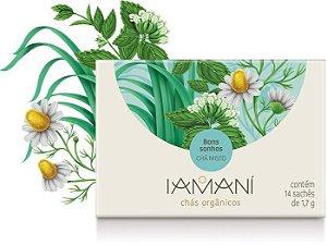 Chá Orgânico Misto Bons Sonhos (Relaxante) - Iamaní