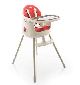 Cadeira de Alimentação Jelly 3 posições de altura até 25Kg Vermelha - Safety 1st