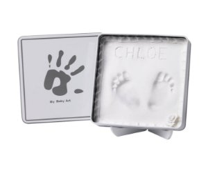 Magic Box Quadrado White & Grey - Baby Art