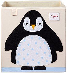 Organizador Infantil Quadrado Pinguim - 3 Sprouts
