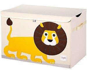 Organizador Infantil Retangular Leão - 3 Sprouts